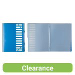 Office Depot Divider Books 12 Tab Blue