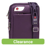 i stay 101 inch netbook  iPad tablet messenger case with non slip bag strap Purple
