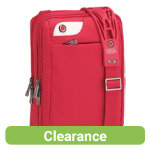 i stay 101 inch netbook  iPad tablet messenger case with non slip bag strap Red