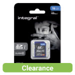 Integral UltimaPro SDHC memory card 16GB