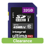 Integral UltimaPro SDHC memory card 32GB