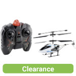 Remote control flying helicopter