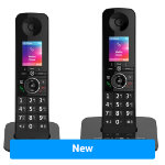 BT Dect Phone Premium Twin Black