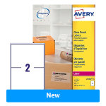 Avery Laser Labels L7568 25 Clear 25 Labels per pack Pack