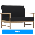 Pledge Reception Armchair Easy Black