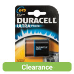 Duracell Ultra 245 Photo 3V Lithium Camera Battery