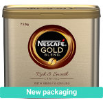 Nescafe Coffee Gold Blend 750 g