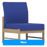 Pledge Reception Chair Easy Blue