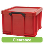 Really Useful Box Multi Usage Box Red 42Ltrs