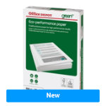 Office Depot Eco Performance Paper A3 75gsm White 500 Sheets
