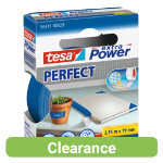Tesa Extra Power Cloth Tape Blue 19mm x 275m