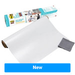 Post it Dry Erase Film Super Sticky White 609 x 914 cm