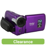 Vivitar DVR558HD 51MP Digital Camcorder Purple