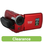 Vivitar DVR558HD 51MP Digital Camcorder Red