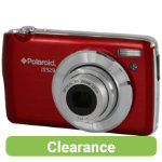 Polaroid IS529 16MP Digital Camera Red