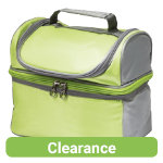Lunch cooler bag green