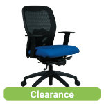 Energi 24 Breeze mesh operator chair blue black