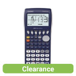 Casio Graphing Calculator Black FX 9750G11