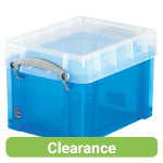 Really Useful Box Translucent Blue 3 Litre