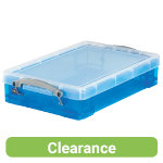Really Useful Box Translucent Blue 4 Litre