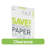 M Real Save White Printer Paper 65gsm A4 Ream