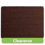 3M Nomad Aqua 4500 Deluxe Dustcontrol PP Floormat Brown 1200 x 1800 mm