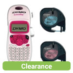Dymo Letratag Label Machine Pink