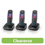 BT Aura 1500 Trio DECT phones with Answer Machine