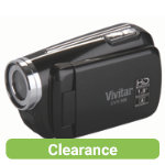 Vivitar DVR508 HD Digital Camcorder Black