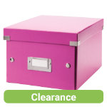 LEITZ WOW Archive Click and Store Box A5 Pink