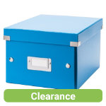 LEITZ WOW Archive Click and Store Box A5 Blue
