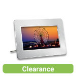 Transcend PF705 Digital Photo Frame 7 White