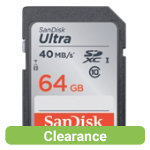 SanDisk Ultra SDXC card 64 GB