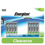 Energizer Batteries Alkaline Eco Advanced AAA Pack Batteries