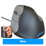 BakkerElkhuizen Mouse 4 Left Black Grey