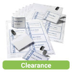 Durable Visitor Name Badge Set 60 x 90mm
