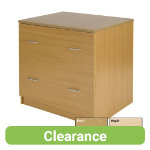 Newbury Office Environment Lateral Filer Beech 75W x 60D x 725H cm