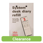 Letts System Desk Refill 138 x 112 mm