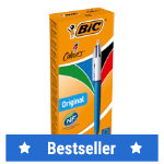 Bic 4 Colour Ball Pen Pack of 12