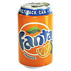 Fanta can 24 pieces of 330 ml
