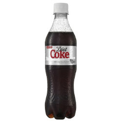 Diet Coke Fizzy Bottle Drink 500ml 24 pk