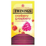 Twinings Infusion Tea Bags Cranberry Raspberry and Elder Flower Pk 20
