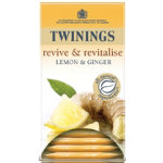 Twinings Infusion Tea Bags Lemon Ginger Tea Pk 20
