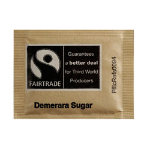 Fairtrade Brown Sugar Sachets Brown