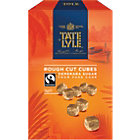 Tate and Lyle Fairtrade Demerara rough cut sugar cubes 1kg