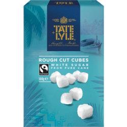 Tate & Lyle White Rough Sugar Cubes 500g