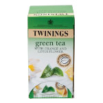 Twinings Orange Lotus Flower Green Tea Pk 20