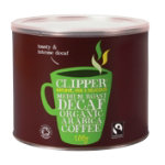 Clipper Fairtrade Organic Decaf Coffee 500g Tin