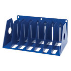 Rotadex A4 Metal Ring Binder Filing Rack Blue
