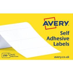 Avery Self Adhesive Address Labels 89 X 37mm 250 Labels Per Box AL02